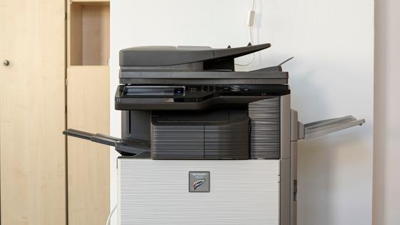 ein modernes Kopiergerät